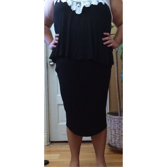 boohoo plus size pencil skirt from andrea s closet on