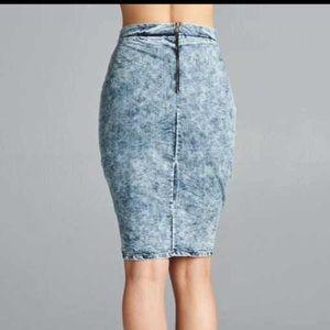 9daa418cab Skirts | Rag Muffin Jada Denim Skirt Sml | Poshmark
