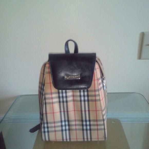 9ed54e5b645d Handbags - Burberry London Backpack large