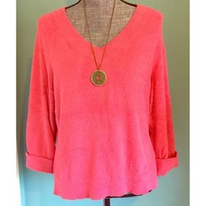 Hampshire Studio Sweaters - Super Soft Sweater Pink Medium