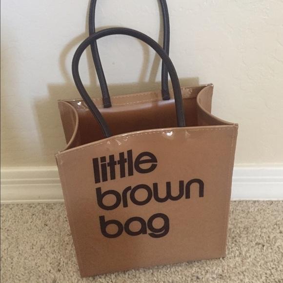 3c0da221e6c Bloomingdales Clutches   Wallets - The little brown bag plastic shopper  Bloomingdales