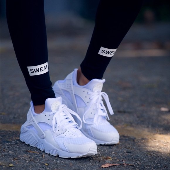 20 Off Nike Shoes Nike Huaraches Triple White From