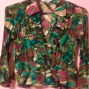 Allison Taylor Tops - Very Lovely Palate of Colors Top.