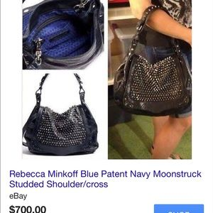 Rebecca Minkoff Studded Moonstruck Bag