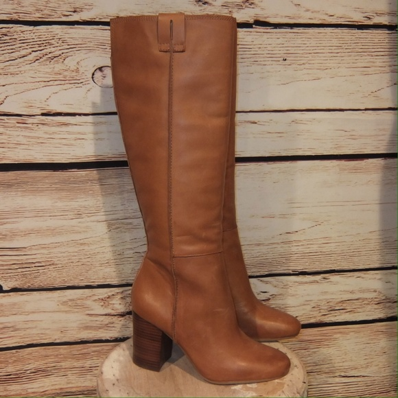 325ae45865d47a NEW Sam Edelman Honey Leather Tall Boots 8.5