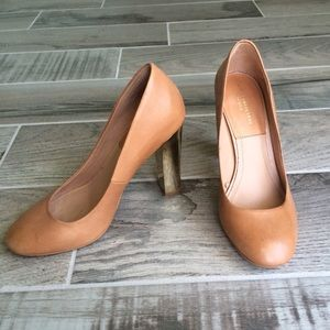 Zara Shoes - Zara chunky heel pumps