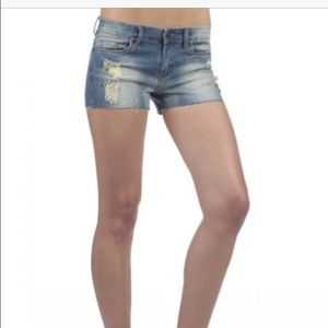 Blank NYC Cut-Off Shorts in Junk Trunk