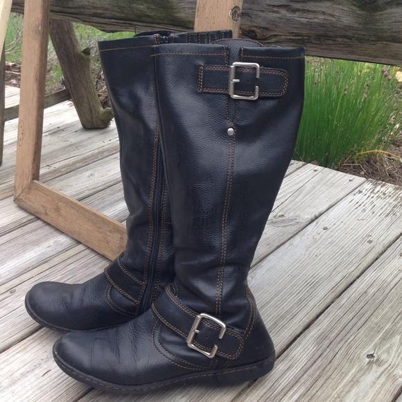 Born Black Tall Boots | Poshmark