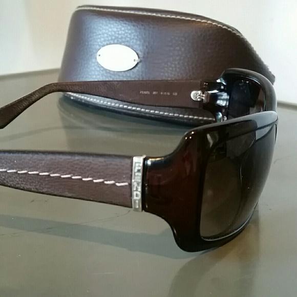 2c77e586fc52 Authentic Fendi Sunglasses Case
