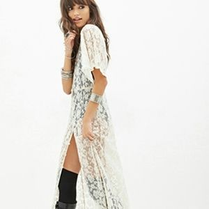 Looking for this long lace forever 21 dress