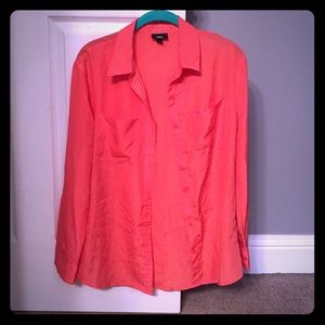 Target button up blouse