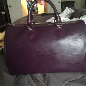 Louis Vuitton Epi leather Speedy 35
