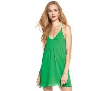 Alice + Olivia Dresses & Skirts - Alice + Olivia Green Tank Dress