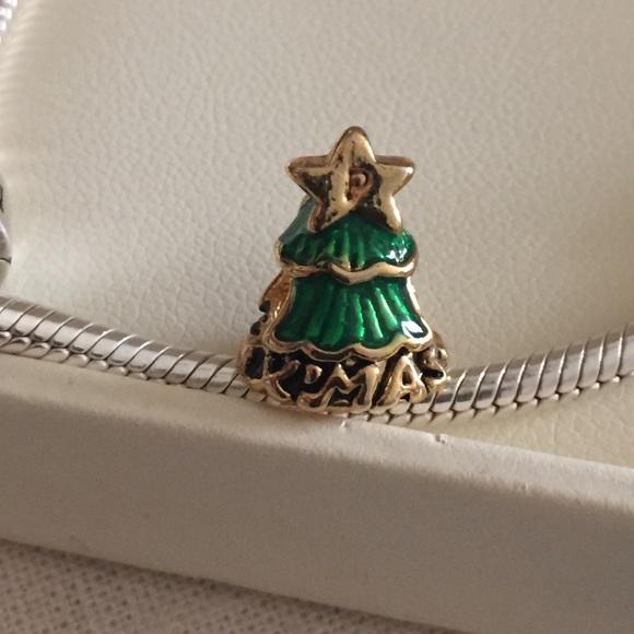 82 Off Jewelry Merry Christmas Christmas Tree Charm