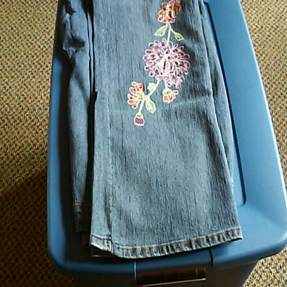 Plus size embellished jeans 22T from Christina&39s closet on Poshmark