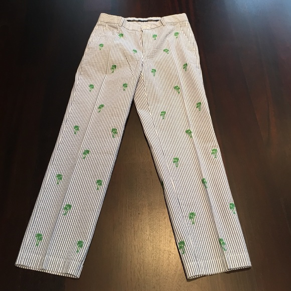 Brooks Brothers Other - 🎉HOST PICK🎉Brooks Brothers palm embroidered pant
