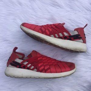 81 nike shoes nike leather slip on roshes sz 7