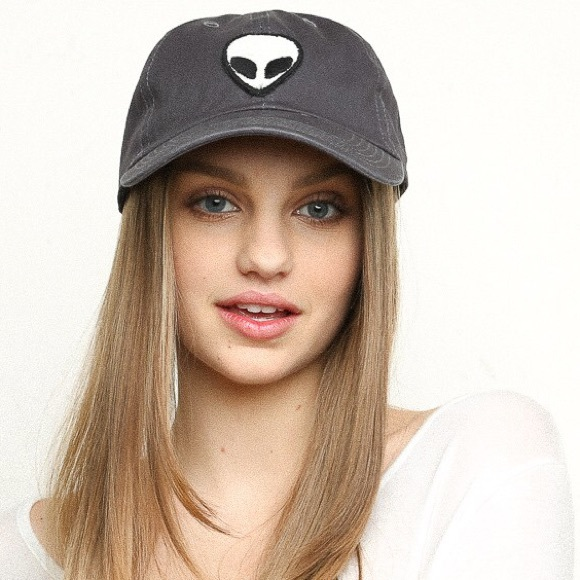 alien patch baseball cap brandy accessories ball hat melville tumblr