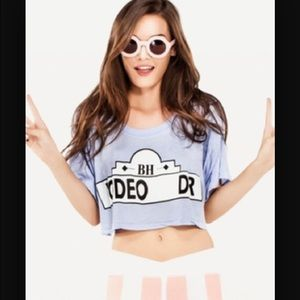 Wildfox Beverly Hills crop top  small