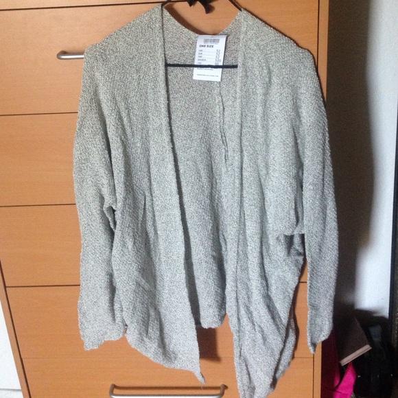 db6de337ada6 Brandy Melville Sweaters | Light Grey Caroline Cardigan | Poshmark