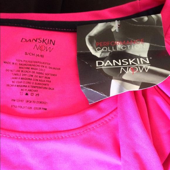 Danskin hot pink danskin athletic tee shirt from joy 39 s for Hot pink running shirt