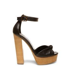 NWOT Steve Madden Platform Ankle Strap Heels