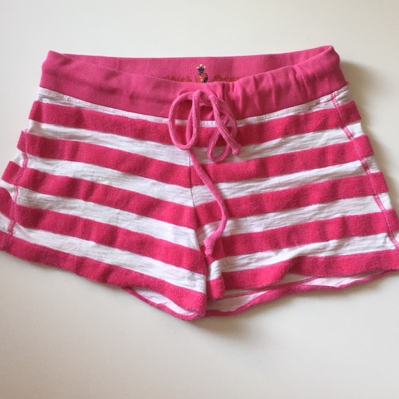 73% off TWISTED HEART Pants - Twisted Heart Pink White striped ...