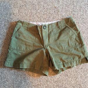 Olive green shorts 4