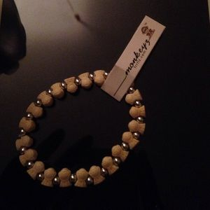 Yellow monkeyz bracelet