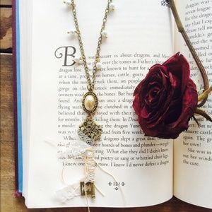 Jewelry - Key necklace handmade vintage