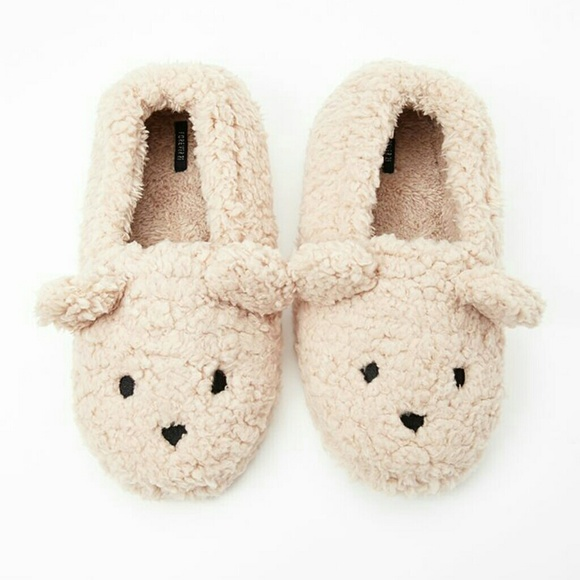 c5db34a57a9f ISO F21 Teddy Bear Slippers
