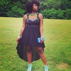 Dresses & Skirts - *Clearance* Black Sweethart Maxi Dress