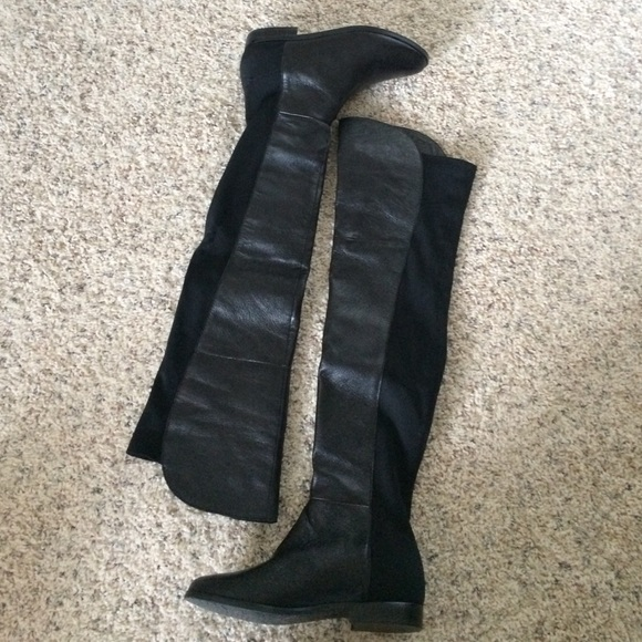 57% off Chinese Laundry Boots - Chinese Laundry Over the Knee ...