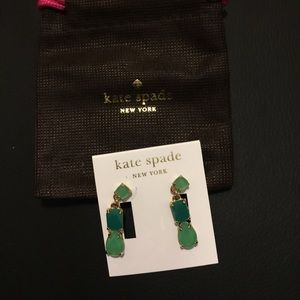 Kate spade drop earring new