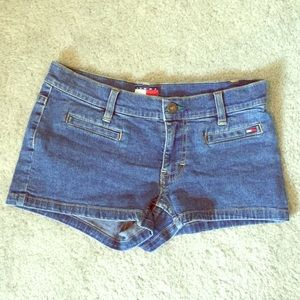 Tommy Jeans Shorts Denim Blue 5 Juniors