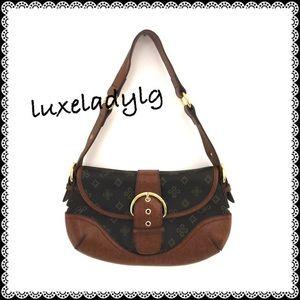 Handbags - Adorable Brown Bag with Print