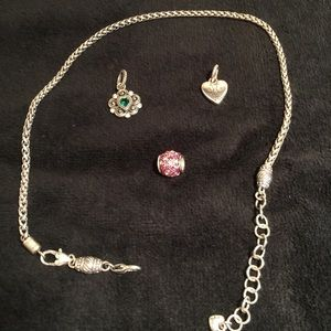 50 off brighton jewelry brighton lanyard clip badge for Brighton badge holder jewelry