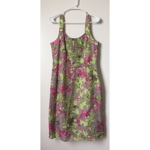 Banana republic floral dress size 10