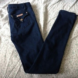Hudson Dark Wash Stretchy Skinny Jeans!