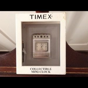 Timex Other - ***TIMEX COLLECTBLE STOVE MINI CLOCK***