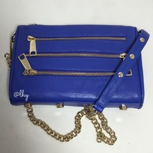 REBECCA MINKOFF MINI FIVE (5) ZIP BAG