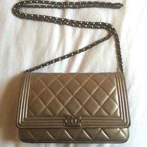 Chanel Gold WOC bag