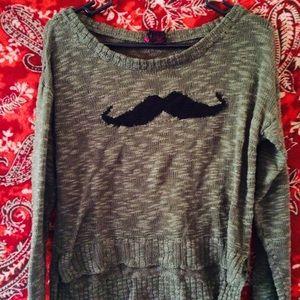Sweaters - Cute Mustache Sweater