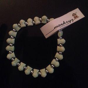 Green monkeyz bracelet