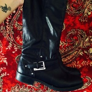 Boots - Tall Leather Boots