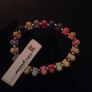 Rainbow monkeyz bracelet