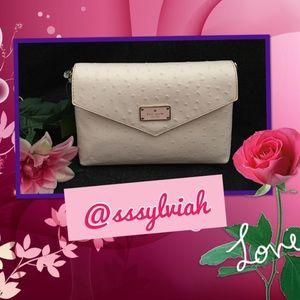 Kate Spade Handbags - KS Ostrich Geri purse