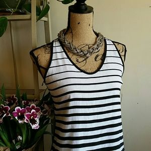 { BOGO 50% } Mossimo High Low Striped Blouse