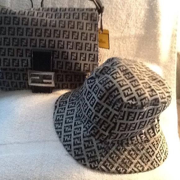 33% off FENDI Handbags - Authentic Fendi Zucca Jumbo Flap ...