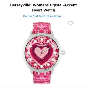 A pink tie die Betseyville Watch